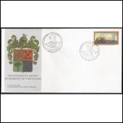 FDC-692 - 1997 - Centenário da morte do Marquês de Tamandaré.