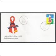 FDC-695 - 1997 - Companha contra a Aids. Medicina.