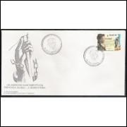 FDC-681 - 1996 - 150 Anos do Nascimento da Princesa Isabel - A Redentora.
