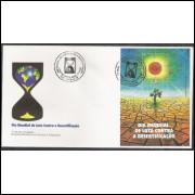 FDC-678 - 1996 - Dia Mundial de Luta Contra a Desertificação.