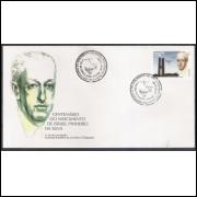 FDC-673 - 1996 - Centenário do nascimento de Israel Pinheiro da Silva. Personalidade.