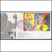 FDC-662 - 1995 - 300 Anos da Morte de Zumbi de Palmares.