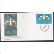 FDC-660 - 1995 - 50 Anos da ONU - Organizações das Nações Unidas.