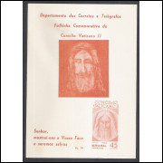 FO28 - 1966 Folhinha Comemorativa do Concílio Vaticano II. Religião.