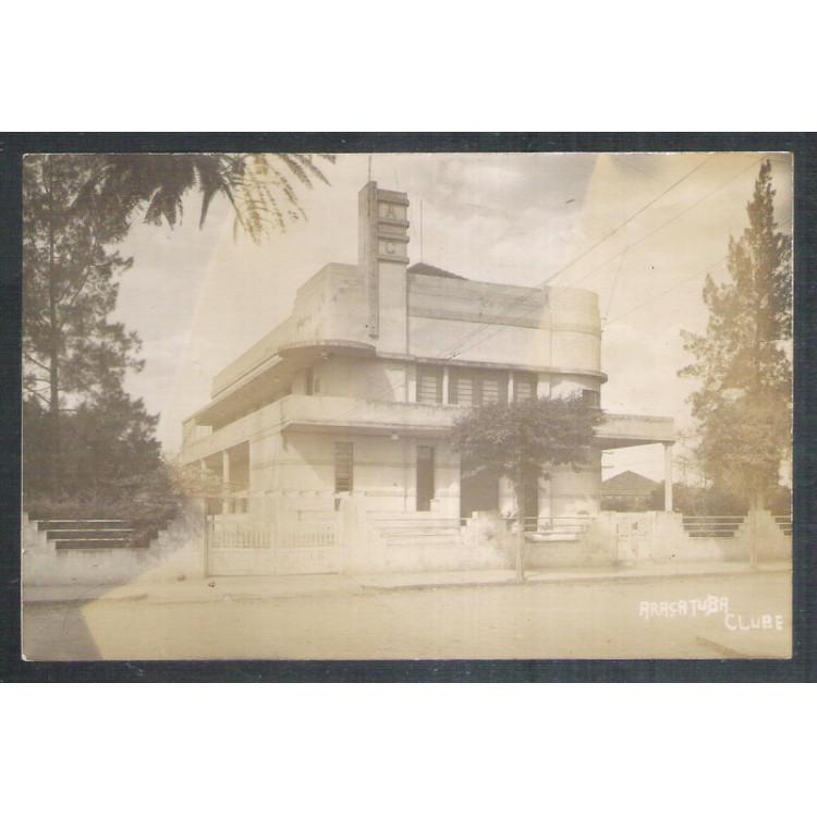 Foto Postal, Araçatuba Clube, anos 50.