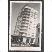 Foto Postal, Edifício Marília - Marília, anos 50.