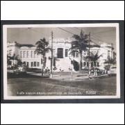 Foto Postal Brasil Cinefoto, anos 50, São Carlos, Instituto de Educação.