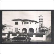 Foto Postal, anos 50, Ourinhos, Prefeitura Municipal.