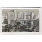ctb41 - Foto postal ColonVist 71 - Curitiba - Praça Santos Andrade.