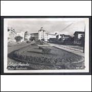 Foto Postal, anos 50, Belo Horizonte, Colégio Arnaldo.