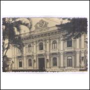 Foto Postal, anos 50, Florianópolis, Palácio do Governo.