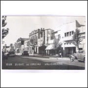 Foto Postal, anos 50, Uruguaiana, Rua Duque de Caxias.
