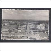 Foto Postal, anos 50, Maceió, Vista parcial.