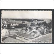 Foto Postal anos 50, Praça Xavier Ferreira, Rio Grande.