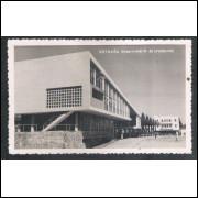 Foto Postal anos 50, Estação Rodoviária, Londrina.