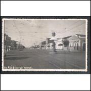 Foto Postal anos 50, Avenida Rio Branco, Natal.