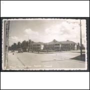 Foto Postal, anos 50, Maceió, Praça Guimarães Passos.