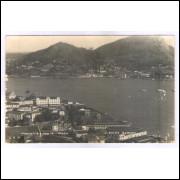 Foto Postal Studio Quintas Vitória ano 1951 vista.