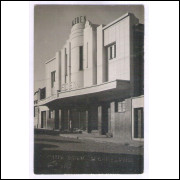 Foto Postal Ano 1956 Jacarezinho, Cine Eden, cinema.