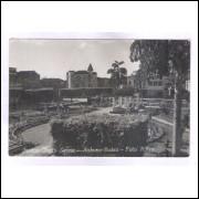 Foto Postal Alves Ano 1952 Itabuna, Jardim Olinto Leone.