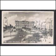 Postal Fotolabor ano 1951, Praça Clovis Bevilaqua, São Paulo