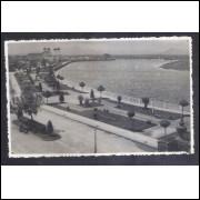 Foto Postal ano 1947, Macaé, Avenida Presidente Sodré.