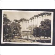 Foto Postal anos 50, Campinas, Jardim Carlos Gomes, edição da Casa Livro Azul 26.