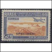 C0219spm - 1946 - Cr$ 2,20 UPAE. SPECIMEN.