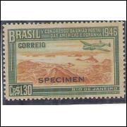 C0216spm - 1946 - Cr$ 1,30 UPAE. SPECIMEN.