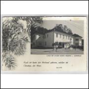 joi16 - Postal antigo - Joinville - SC. Casa de Saúde Dona Helena.