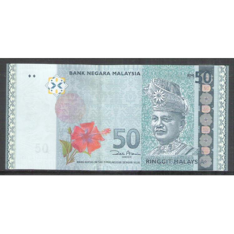 Malásia (P.50) - 50 Ringgit 2009, fe.