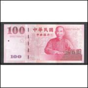 China - Taiwan (P.1991) - 100 Yuan 2001, fe.