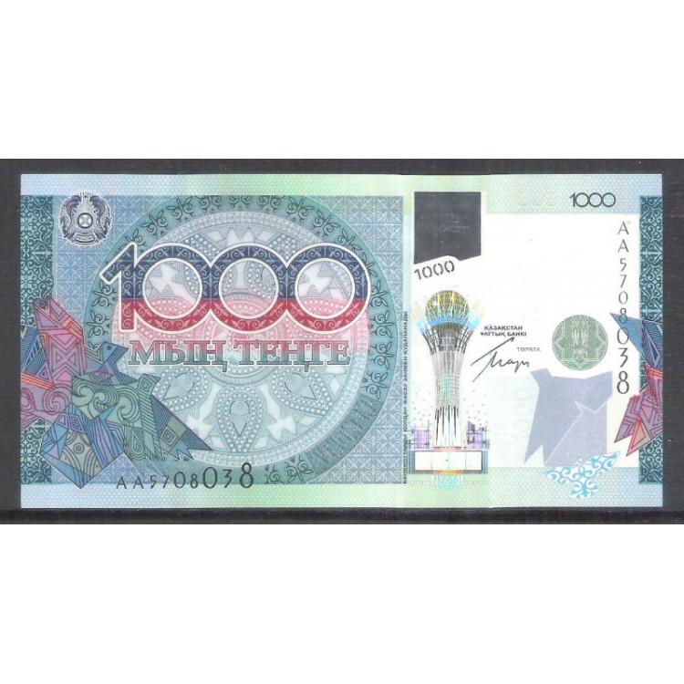 Cazaquistão (P.35), 1000 Tenge 2010, fe. Comemorativa.