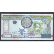 Burundi (P.47) 2000 Francs 2008 fe