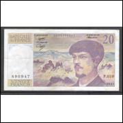 França - (P.151a) 20 Francs, 1983, mbc.