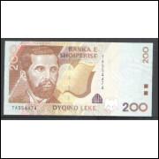 Albânia (P.67), 200 Leke, 2001, fe.