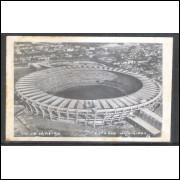 Foto postal Guanabara, Estádio Municipal, Maracanã, Rio de Janeiro, anos 60.