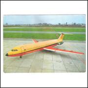 Cartão Postal Transbrasil - Super Jet 500 - O Jatão. Aviação.
