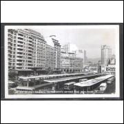 Foto Postal Colombo 33 Praça Presidente Antônio José de Almeida, Rio de Janeiro, anos 50.