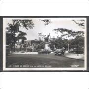 Foto Postal Colombo 23 Igreja da Glória, Rio de Janeiro, anos 50.