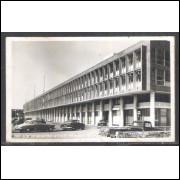 Foto Postal Colombo 140 Aeroporto Santos Dumont, Rio de Janeiro, anos 50.