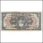 R186 Brasil 50 Mil Réis da Caixa de Estabilização 1927