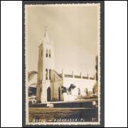 Postal Foto Brasil 31, Paranaguá, Igreja Rocio, anos 50.