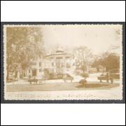 Postal Foto Brasil 14, Paranaguá, Praça Fernando Amaro, anos 50.