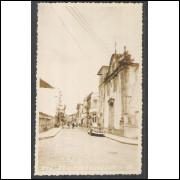 Postal Foto Brasil 26 Rua Quinze Paranaguá anos 50