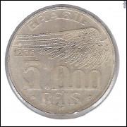 1936 - 5000 Réis, prata, FC. Santos Dumont.