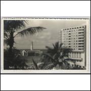 sa03 - Cartão postal antigo, Farol da Barra. Salvador - Bahia.