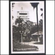 Foto Postal Colombo 42 Juiz de Fora, Parque Halfeld, anos 50.