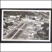 Foto Postal Colombo 24, Itu, Praça Regente Feijo, Colégio Nossa Senhora do Patrocínio, anos 50.