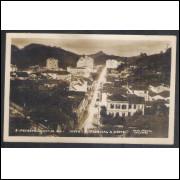 Foto Postal Colombo 8 - Petrópolis, vista parcial a noite, anos 50.